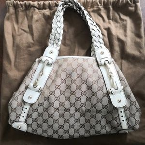 Gucci Pelham Shoulder Bag GG Canvas Large